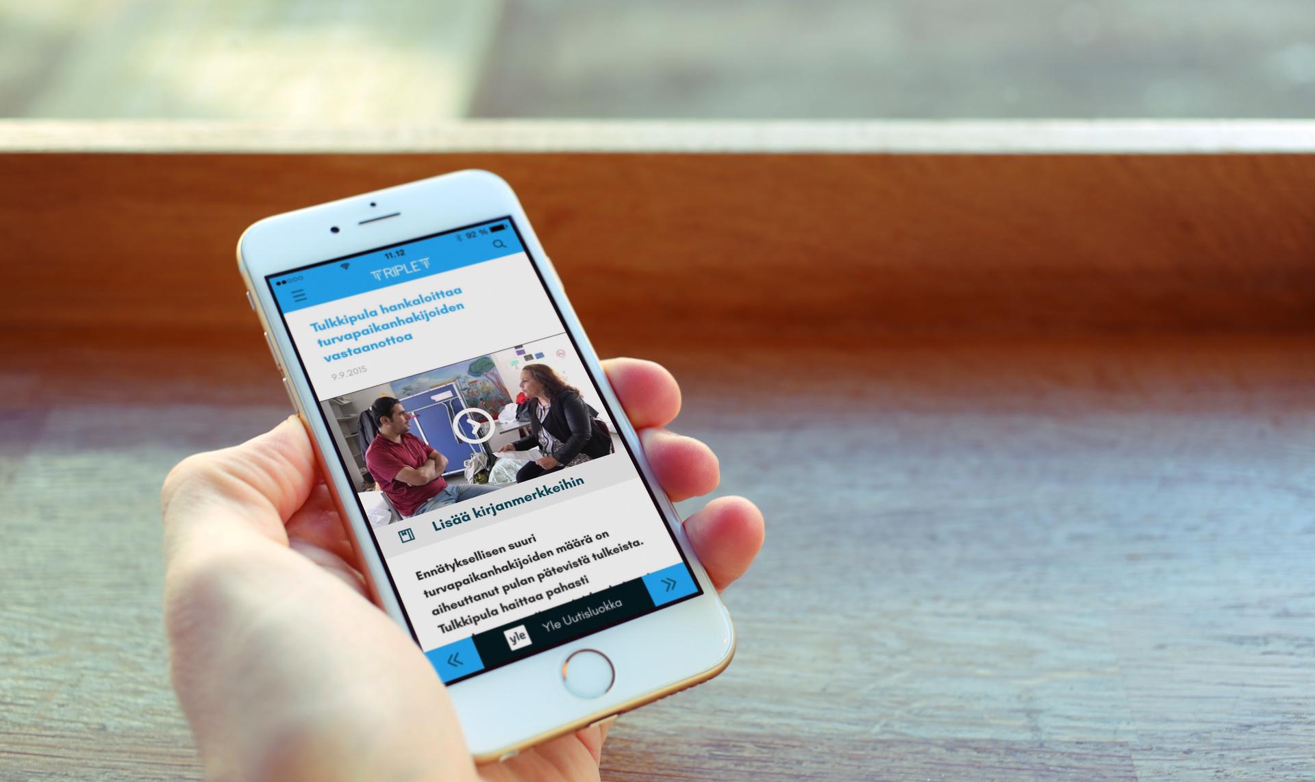 Medium triplet iphone mockup web